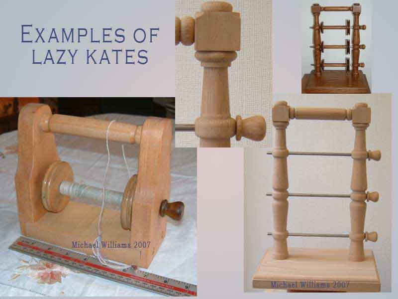 how to make a lazy kate for spinning